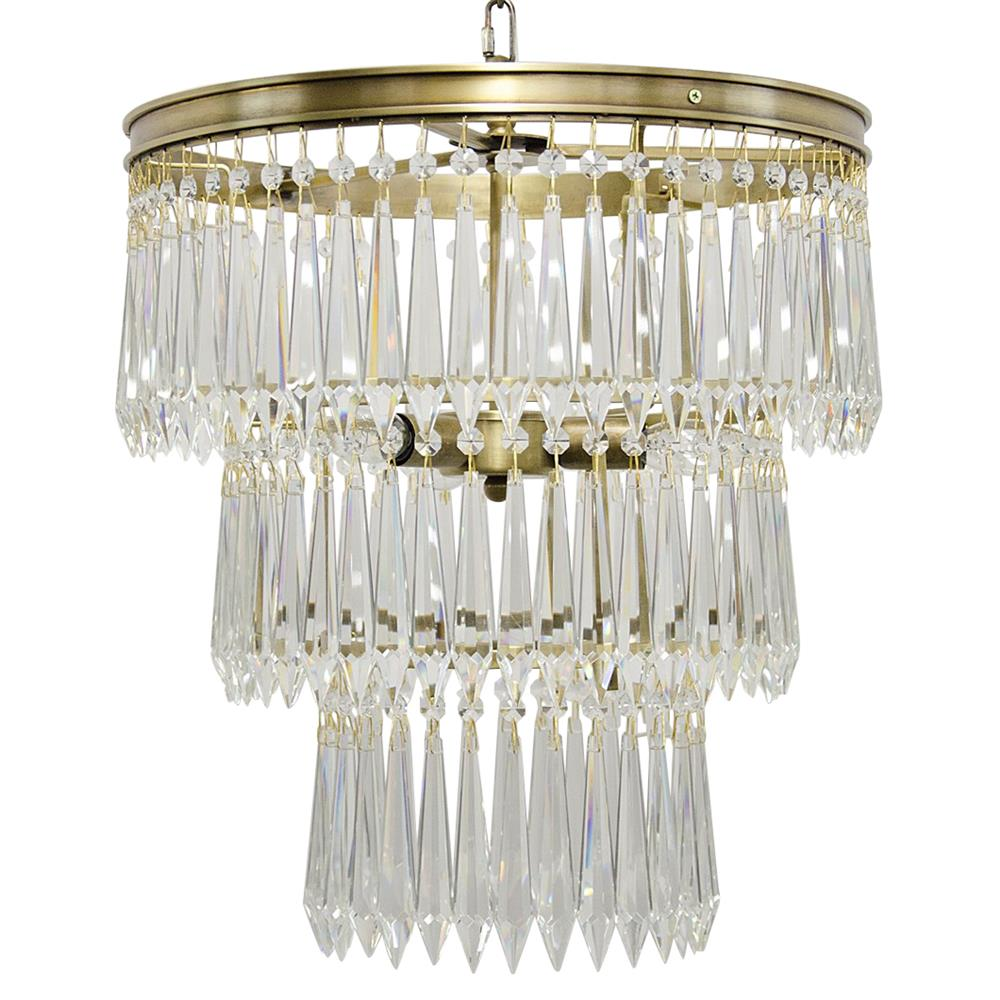 italian original by plafonnier glass product prism chandelier gold iamia and