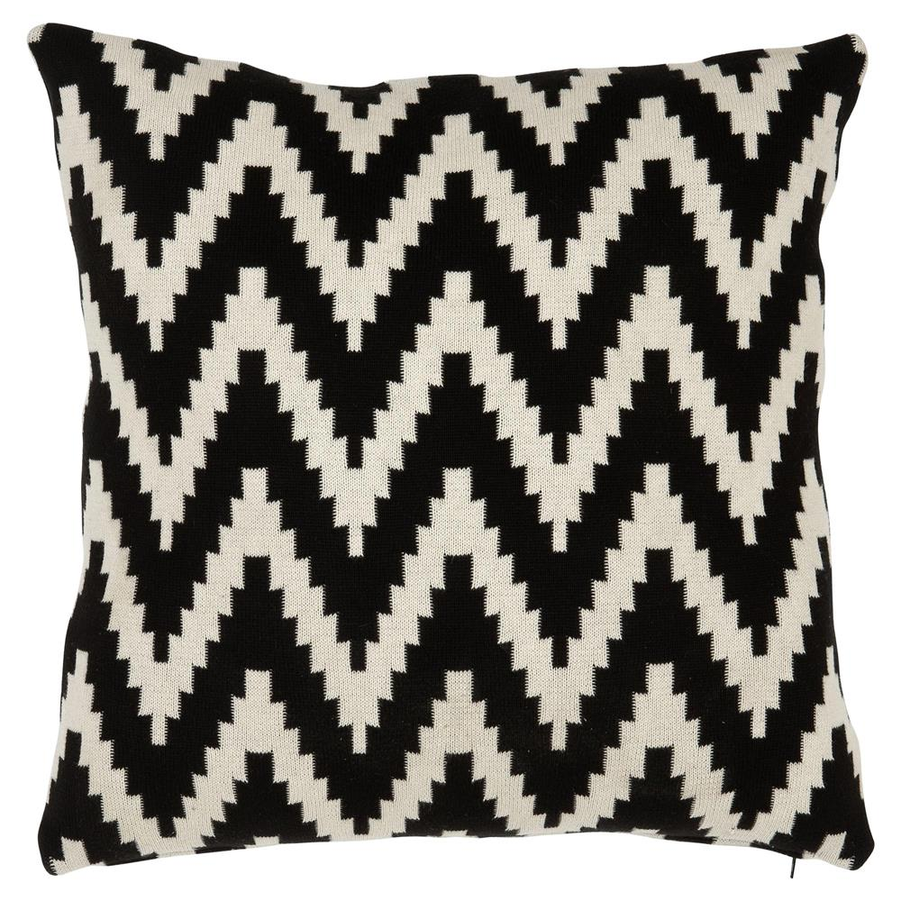 eichholtz global black white chevron decorative pillows