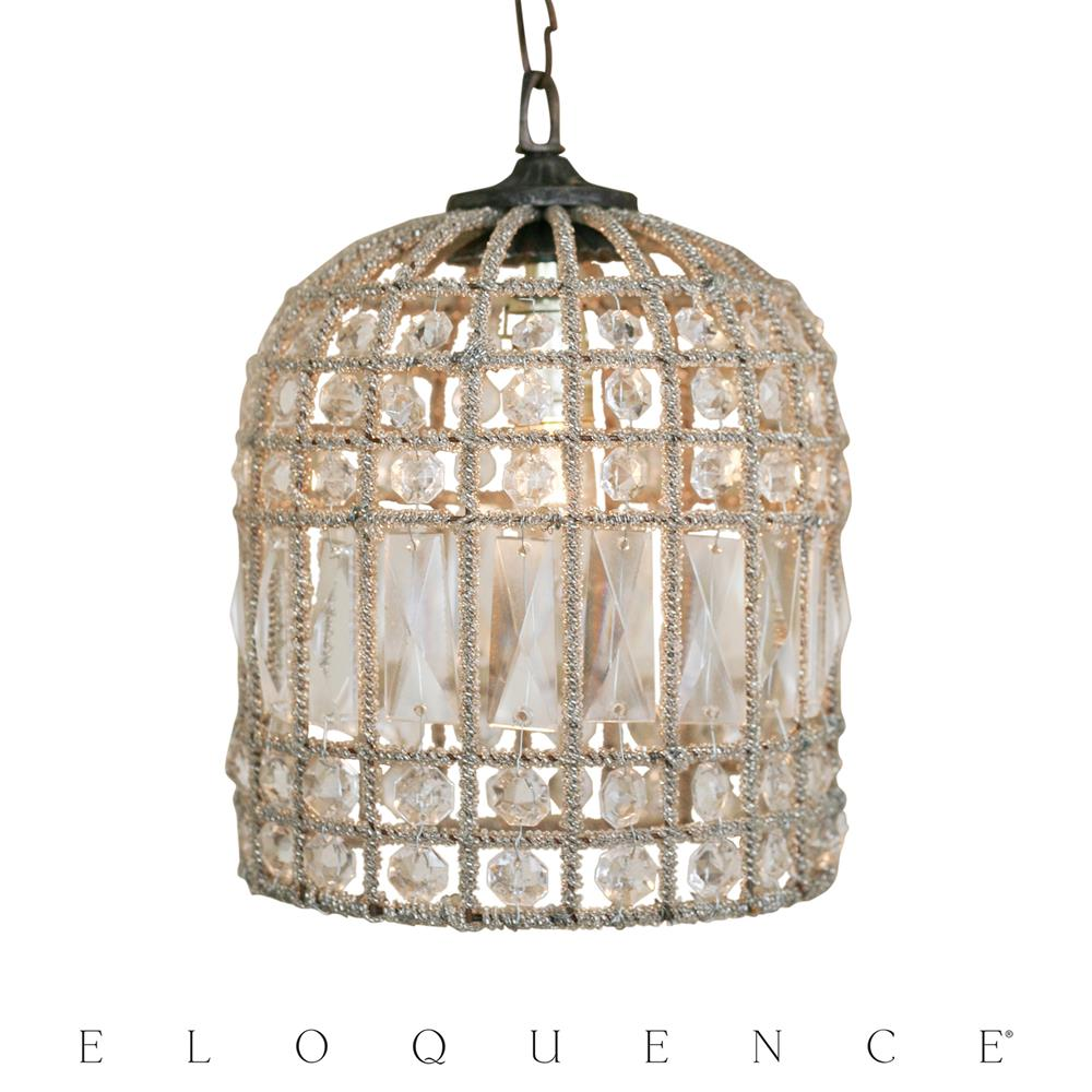Eloquence small birdcage chandelier kathy kuo home aloadofball Choice Image