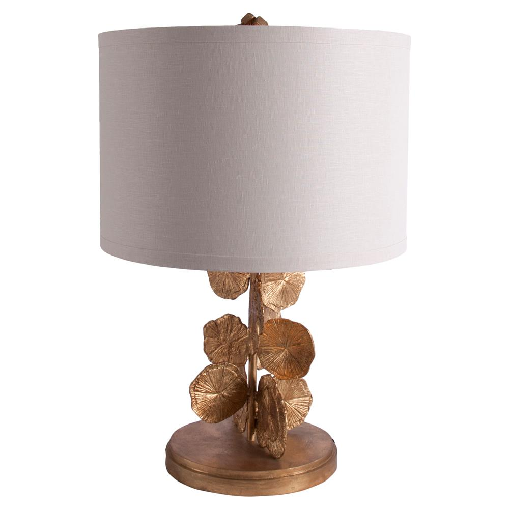 table lamps placide french country gold pyrite leaves table lamp. Black Bedroom Furniture Sets. Home Design Ideas