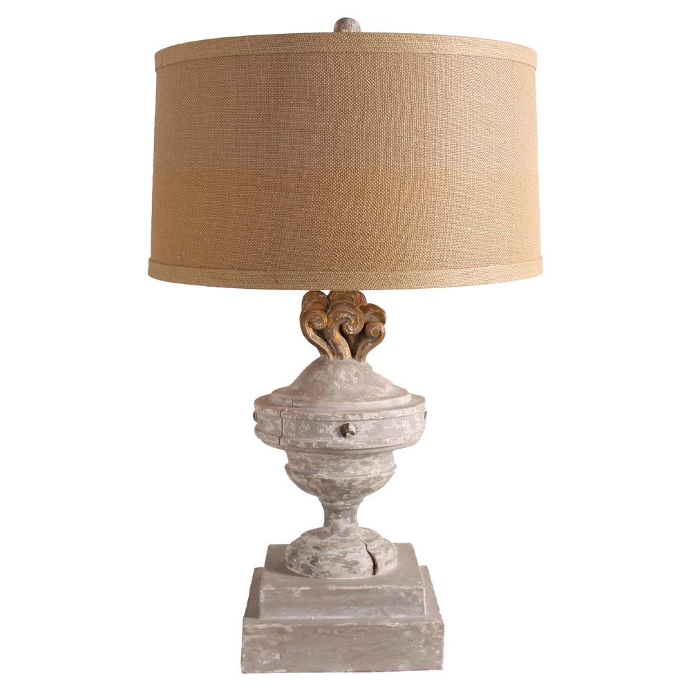 lighting table lamps cecilia french country grey wash table lamp. Black Bedroom Furniture Sets. Home Design Ideas