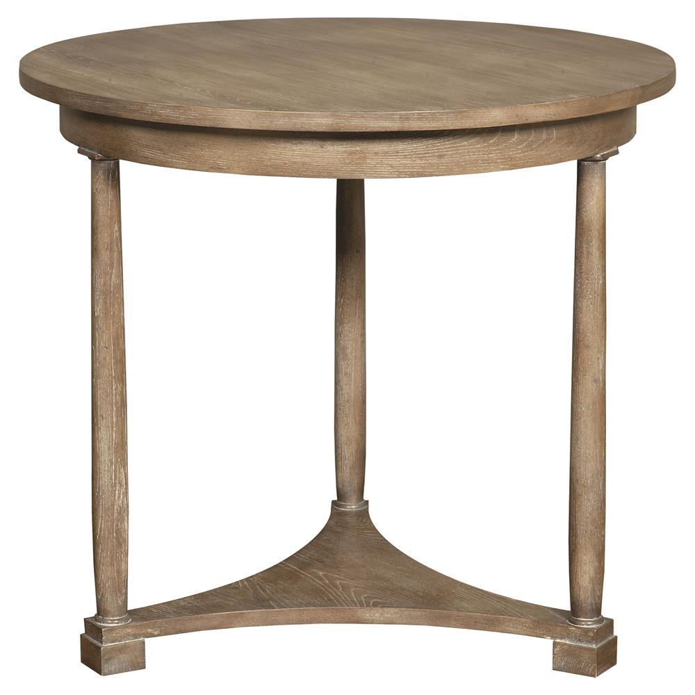 Luelle classic coastal rustic brown cedar side table for Classic home tables