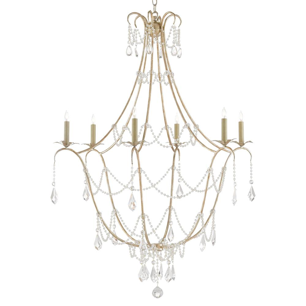 shade elegant products elg leaf light bellagio antique collections glass chandelier lighting silver finish