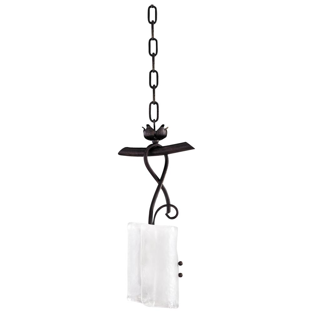 somerset wrought iron organic sculpted 1 light drop. Black Bedroom Furniture Sets. Home Design Ideas