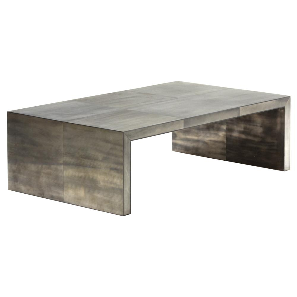 Oly studio giles grey waterfall coffee table kathy kuo home