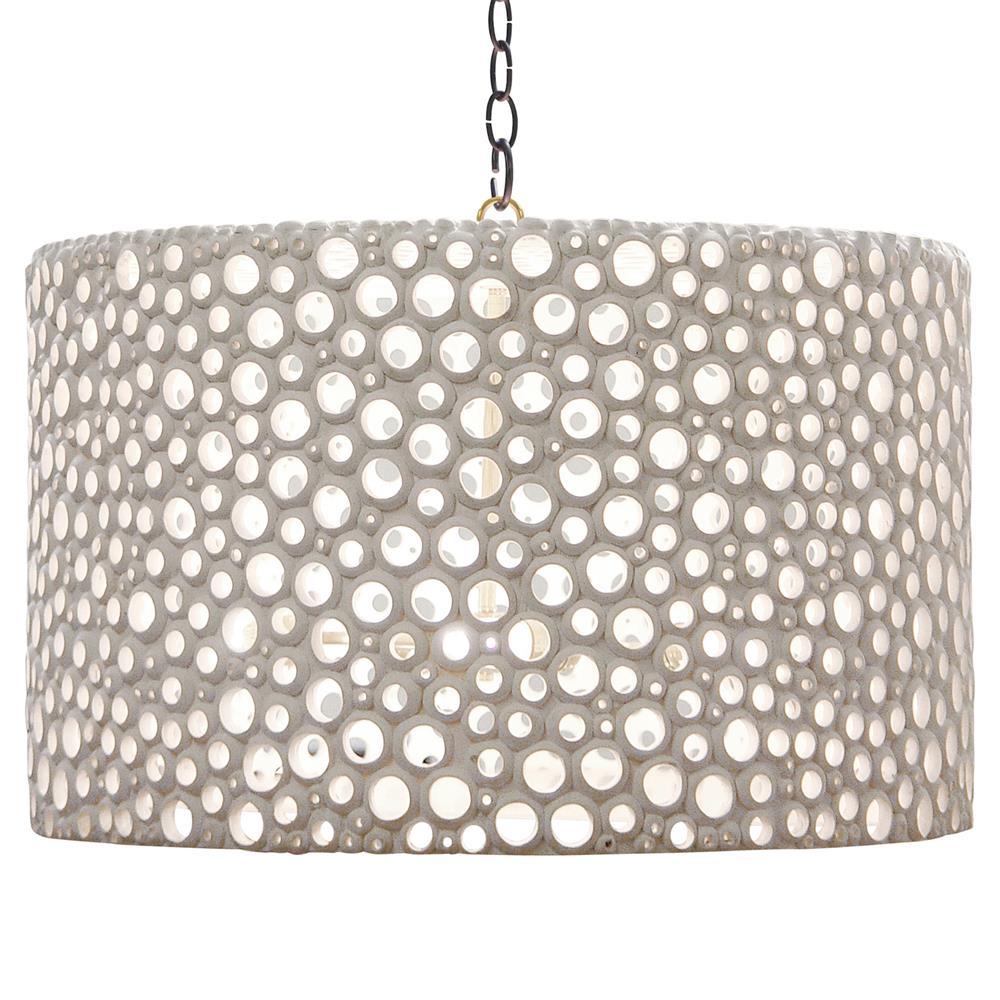 Oly studio meri frost white drum chandelier kathy kuo home aloadofball Choice Image