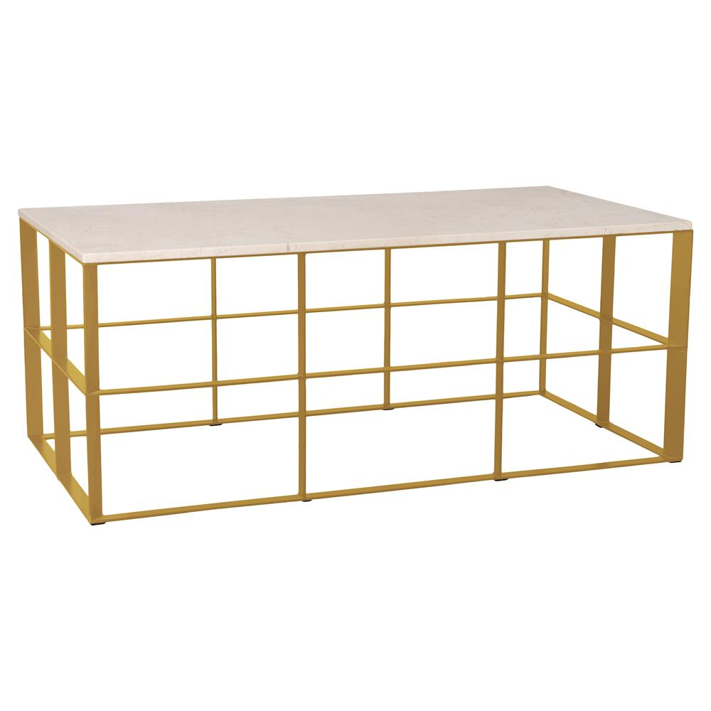 Macy S Marble Top Coffee Table: Macy Gold Geometric White Granite Outdoor Coffee Table