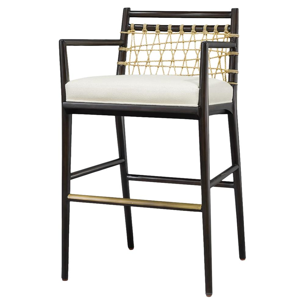 Terrific Rope Bar Stools Pabps2019 Chair Design Images Pabps2019Com