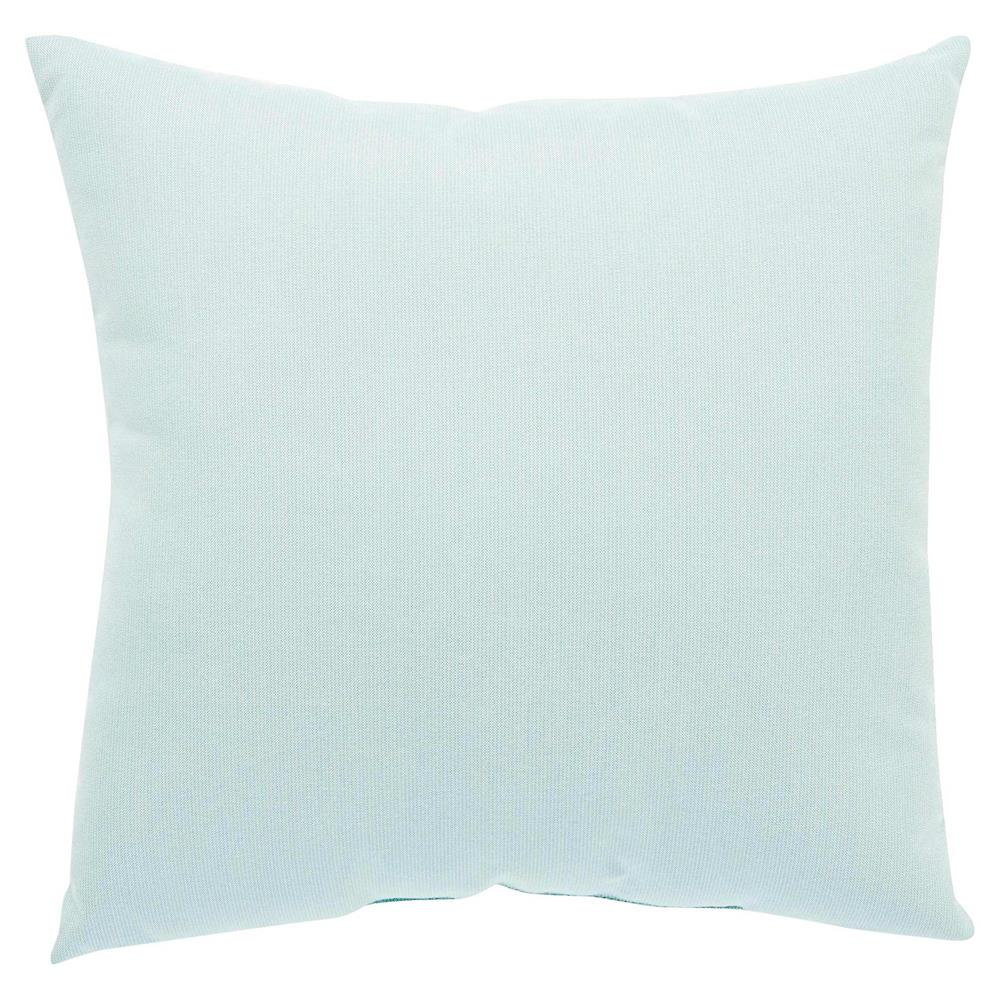 Coastal modern harbor blue outdoor pillow 18x18 kathy for Modern house 18x18