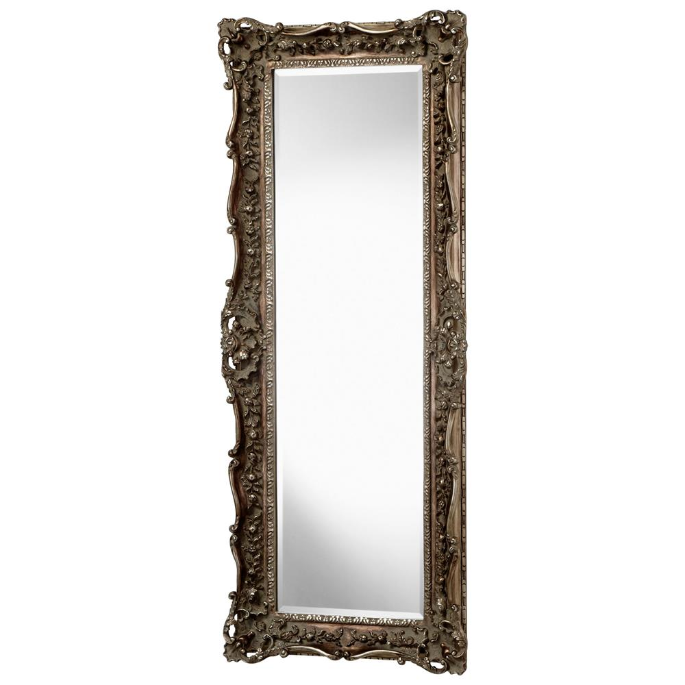 French european ornate carved gilt heritage gold leaf for Gold floor standing mirror