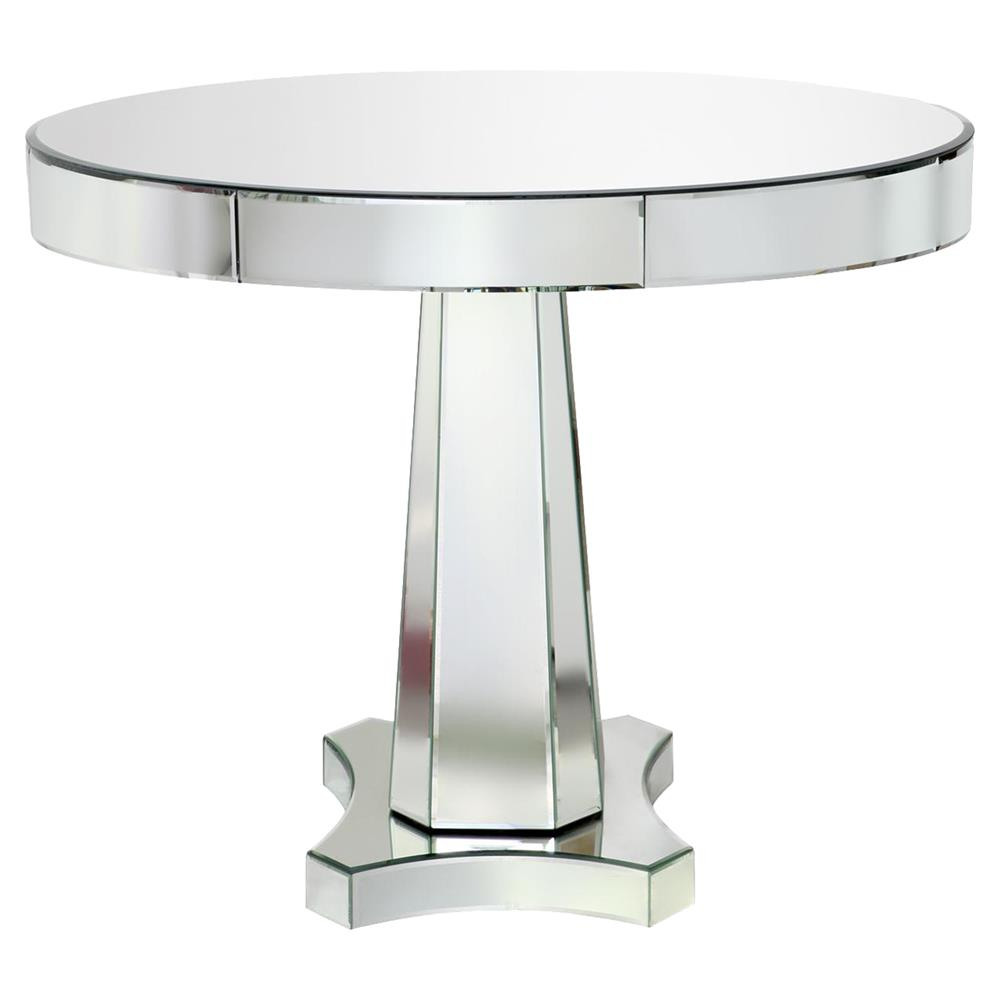 Cassie Hollywood Regency Round Mirror Dining Table Kathy