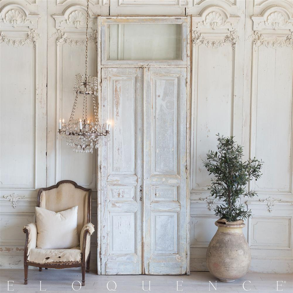 French Country Doors : French country style vintage doors kathy kuo home