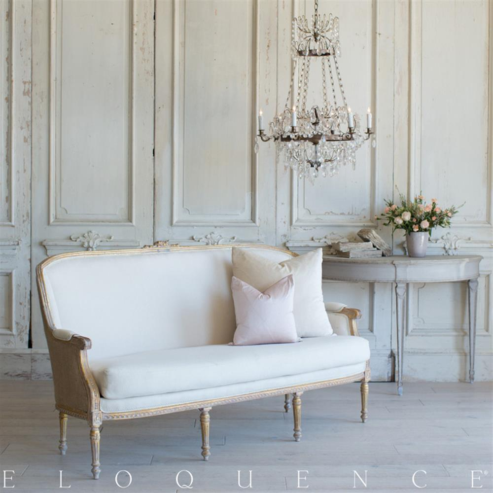 French Country Style Vintage Daybed: 1940 | Kathy Kuo Home