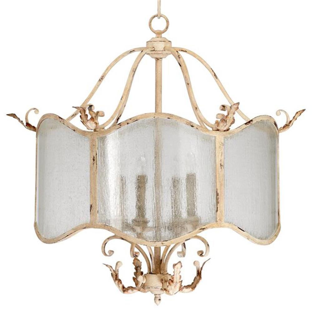 Maison french country antique white 4 light nook for French country white