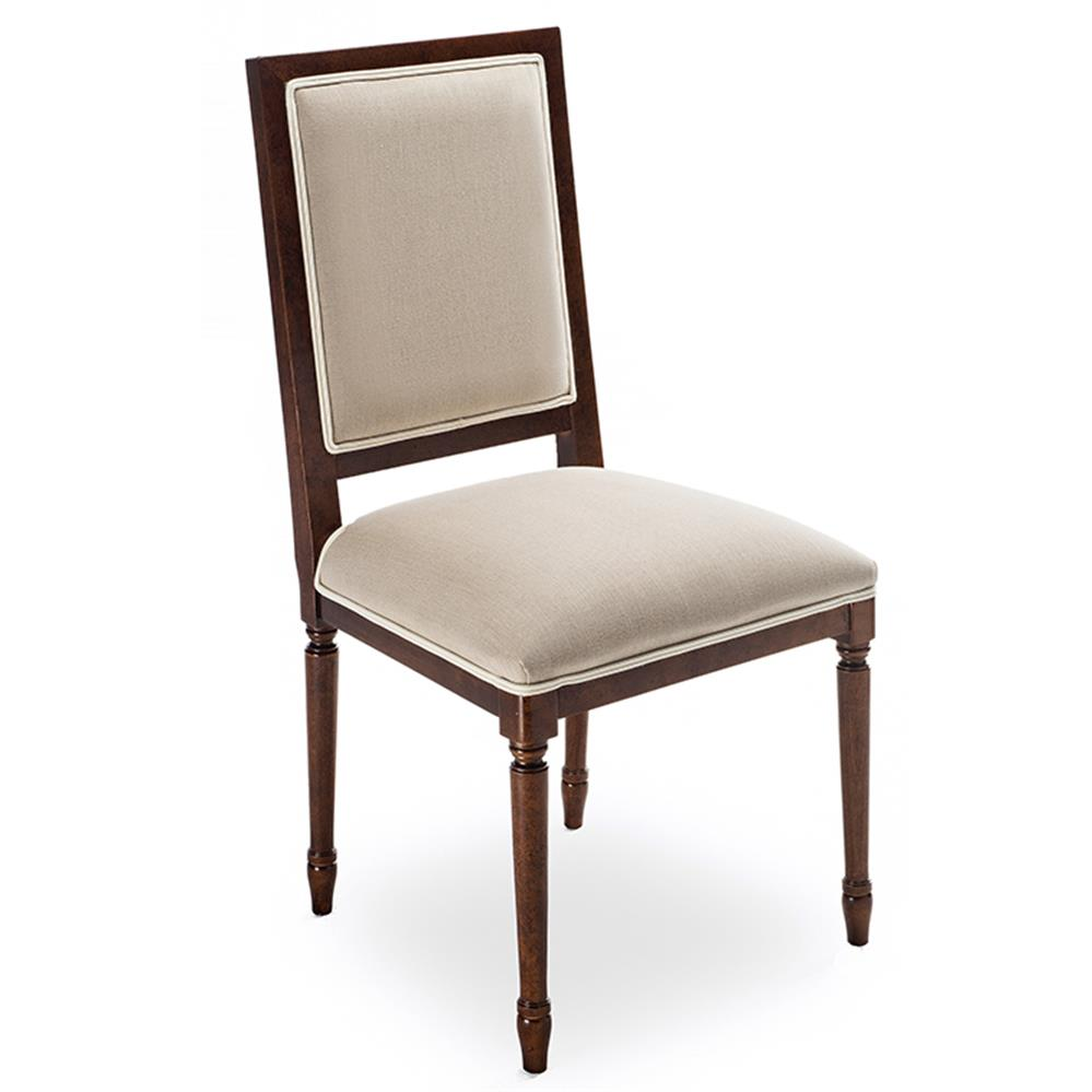Berenice French Country Square Back Walnut Dining Chair  : product24501 from www.kathykuohome.com size 999 x 999 jpeg 48kB