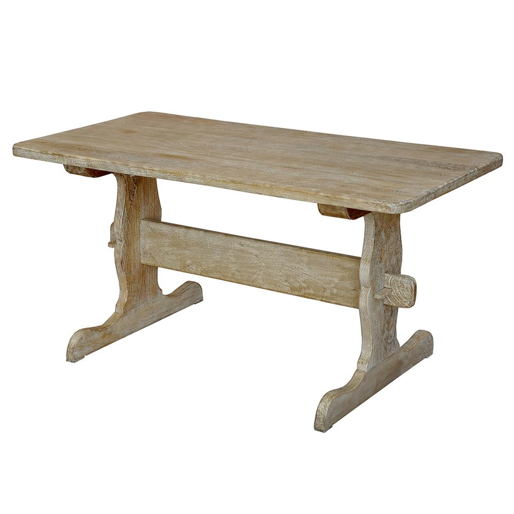 Azur french country farmhouse rustic handcarved wood for French country dining table