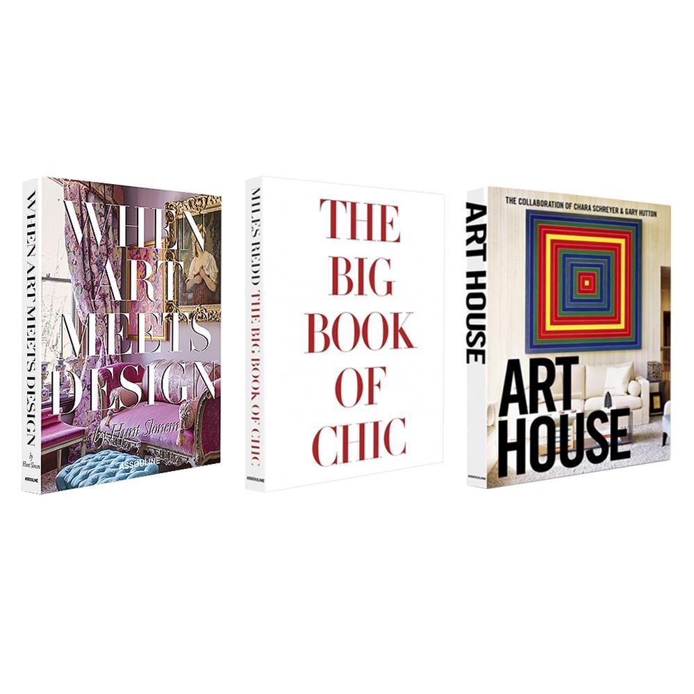 Interior Design Series Set Of 3 Assouline Hardcover Books