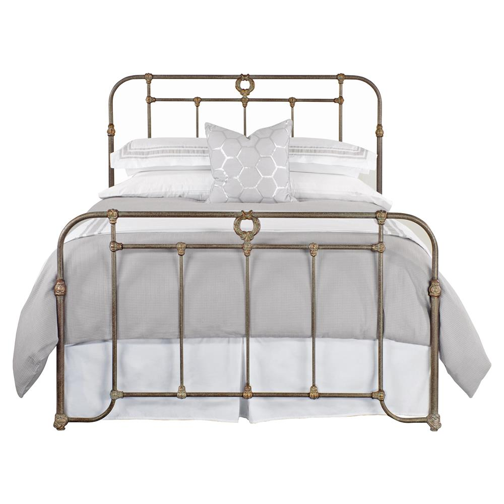 5698ff34599f Corse French Country Detailed Iron Bed - Queen