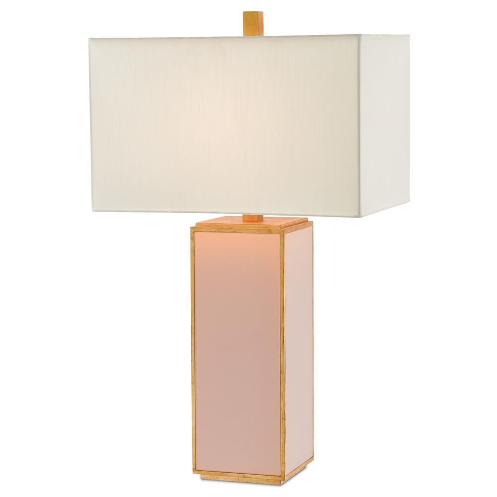 Amandine modern classic gold leaf table lamp kathy kuo home aloadofball Image collections