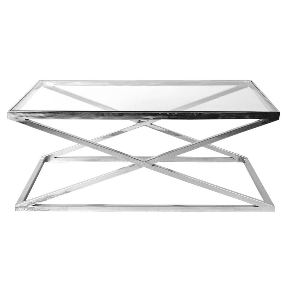 Eichholtz Criss Cross Modern Classic Glass Rectangular