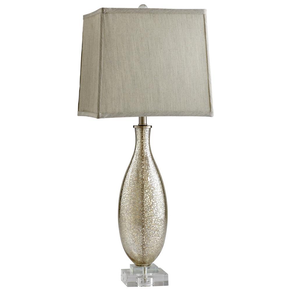 coco antique mercury glass modern elegant gold crackle table lamp. Black Bedroom Furniture Sets. Home Design Ideas