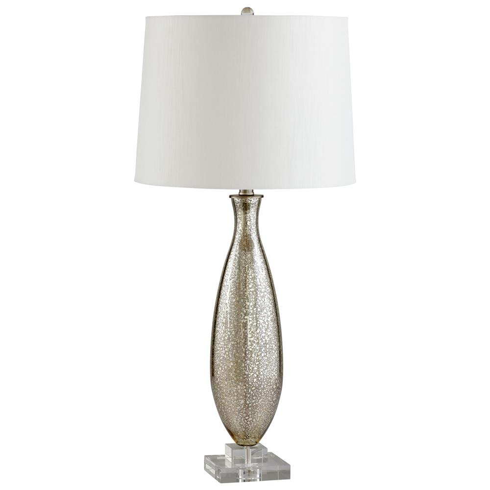 Brooklyn Antique Mercury Glass Modern Elegant Gold Crackle Table Lamp |  Kathy Kuo Home