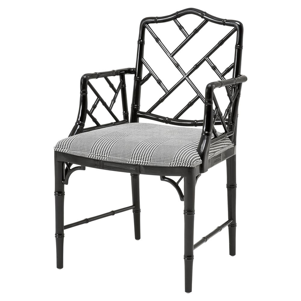 Dining Arm Chairs Black Design: Eichholtz Infinity Modern Classic Black Chinese