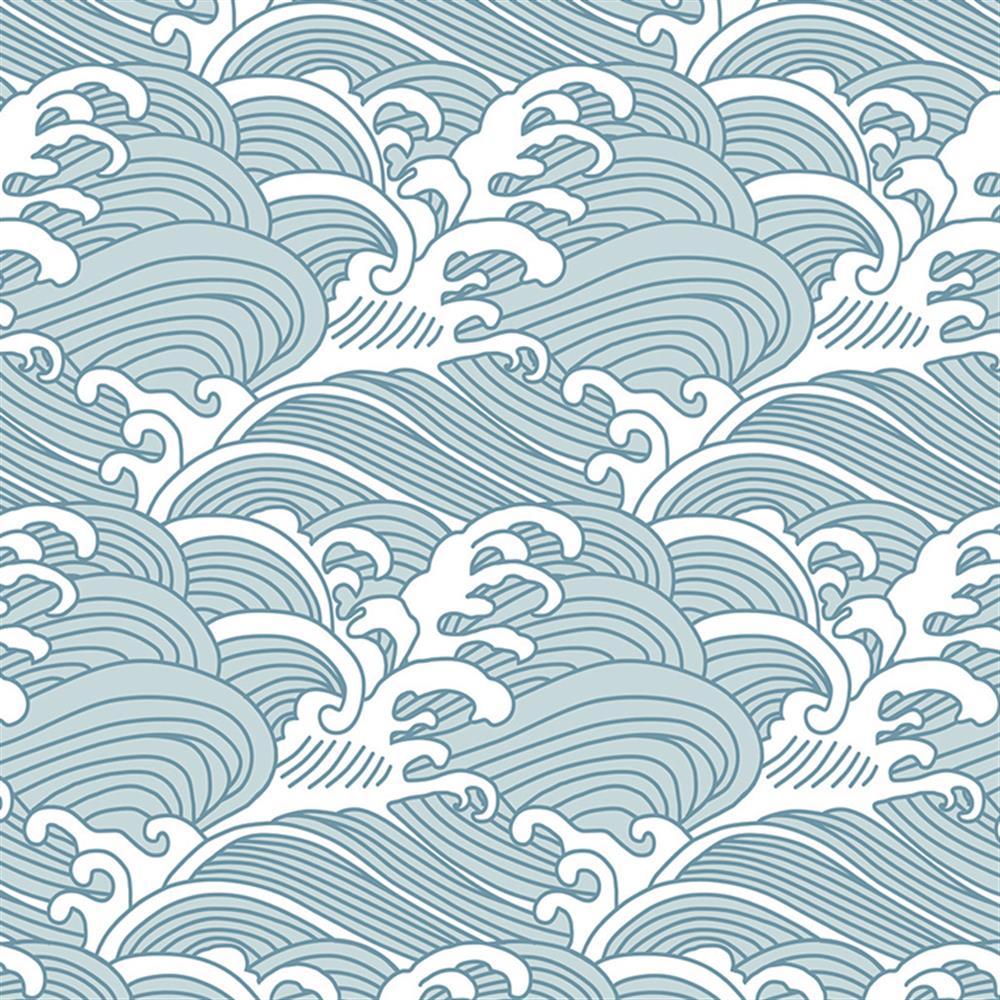 Waves Wallpapers: Anewall Bombora Modern Classic Vintage Hawaiian Waves