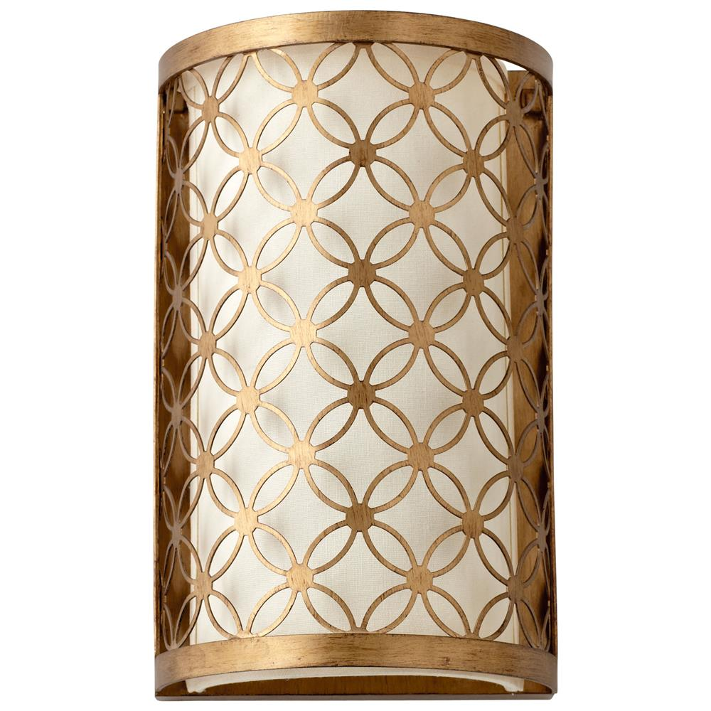 Metal Wall Sconce small round lattice antique brass metal filigree wall sconce