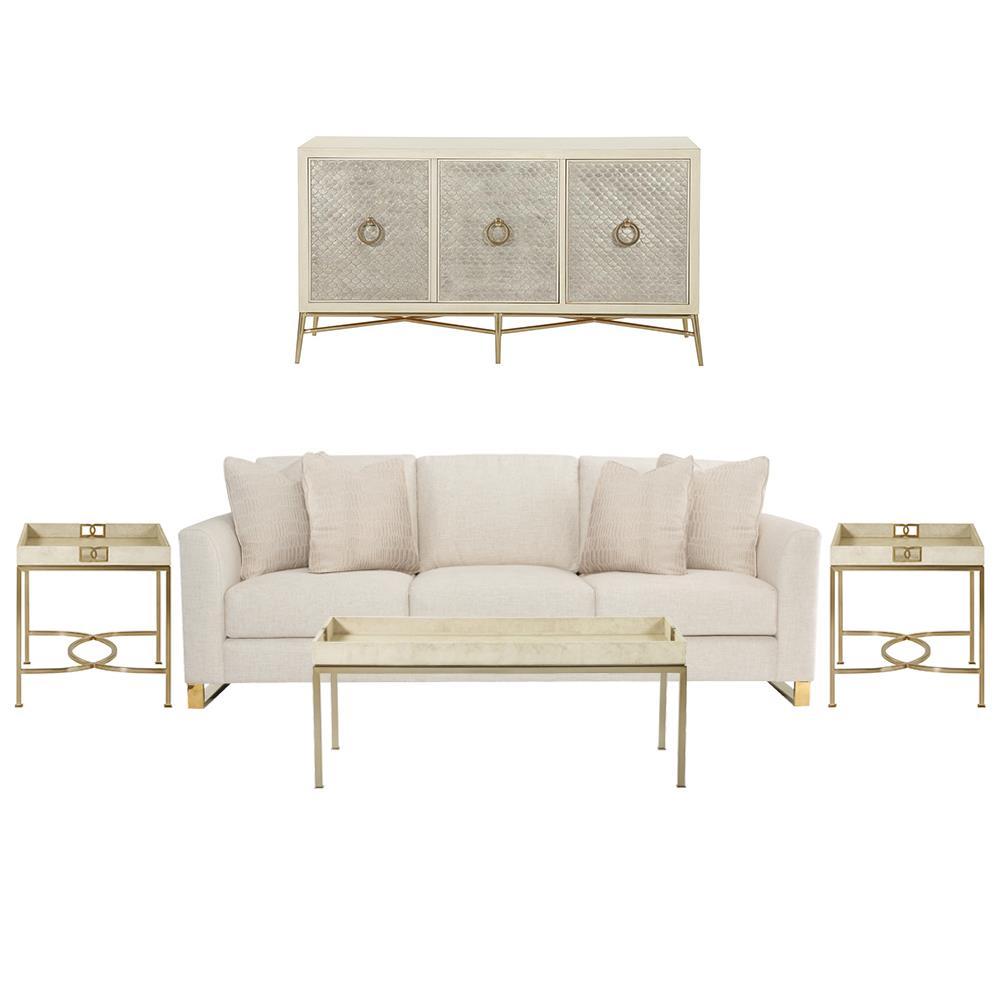 Oriana Modern Classic Living Room Set | Kathy Kuo Home
