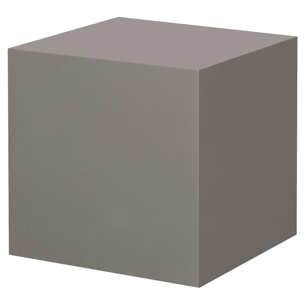 Kelly Hoppen Morgan Modern Classic Dark Grey Cube Accent Table | Kathy Kuo  Home ...