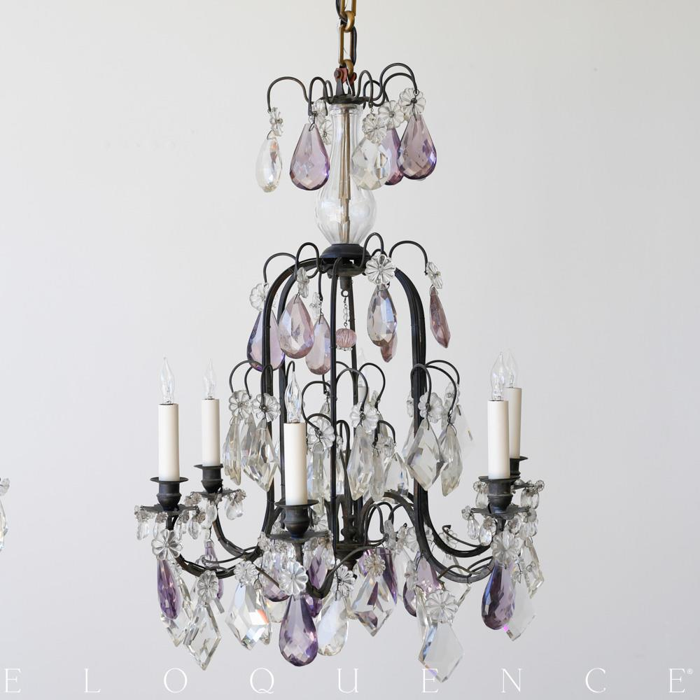 Eloquence french country style antique chandelier kathy kuo home aloadofball Images