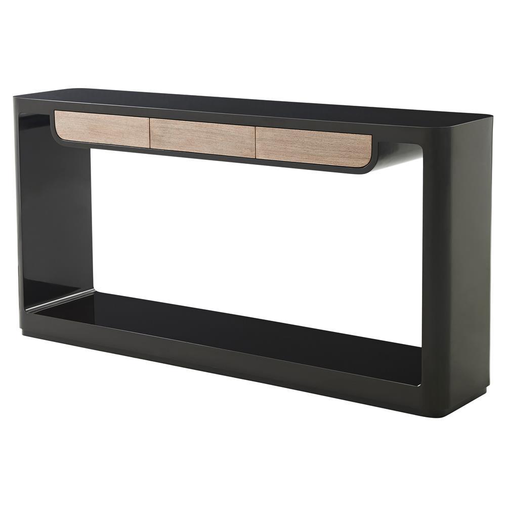 theodore alexander bauer brushed wenge drawers cava. Black Bedroom Furniture Sets. Home Design Ideas