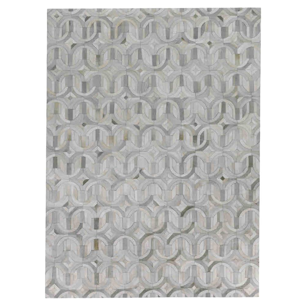 Exquisite Rugs Natural Hide Modern Clic Arch Pattern Beige Grey Rug 5 X 8 Kathy