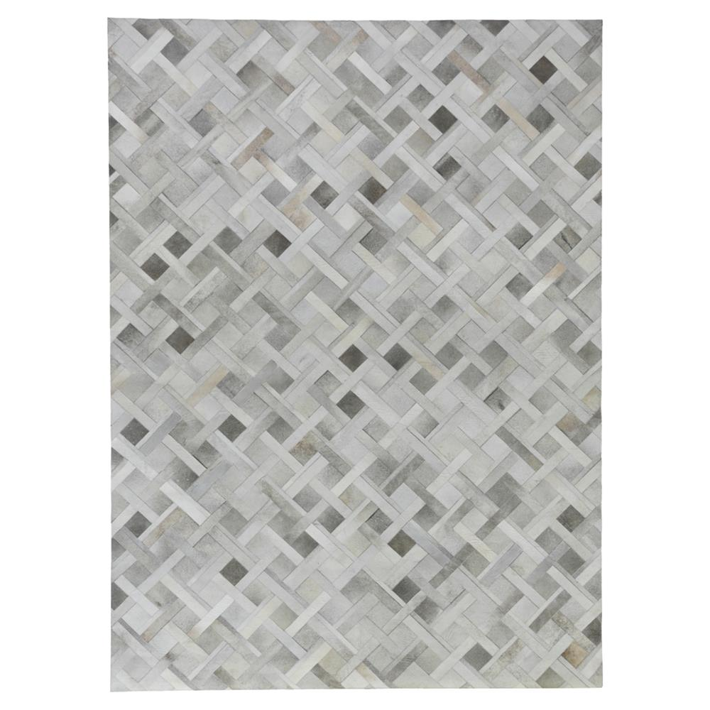 Exquisite Rugs Natural Hide Modern Classic Geometric