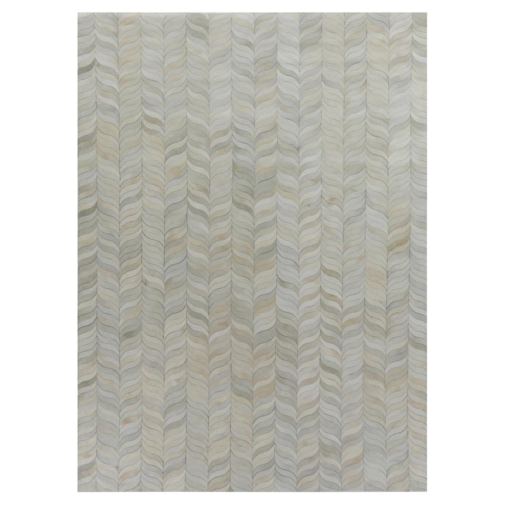 Modern Nature Rug: Exquisite Rugs Natural Hide Modern Classic Curved Chevron