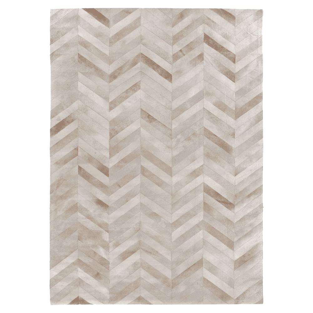 Modern Nature Rug: Exquisite Rugs Natural Hide Modern Classic Chevron Pattern