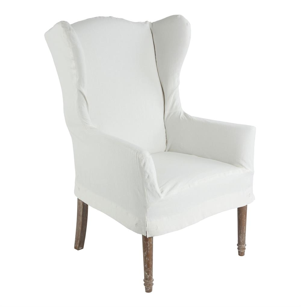 Eli French Country Wing Back Dining Arm Chair Slip Cover  : product2740 from ebay.com size 1000 x 1021 jpeg 30kB