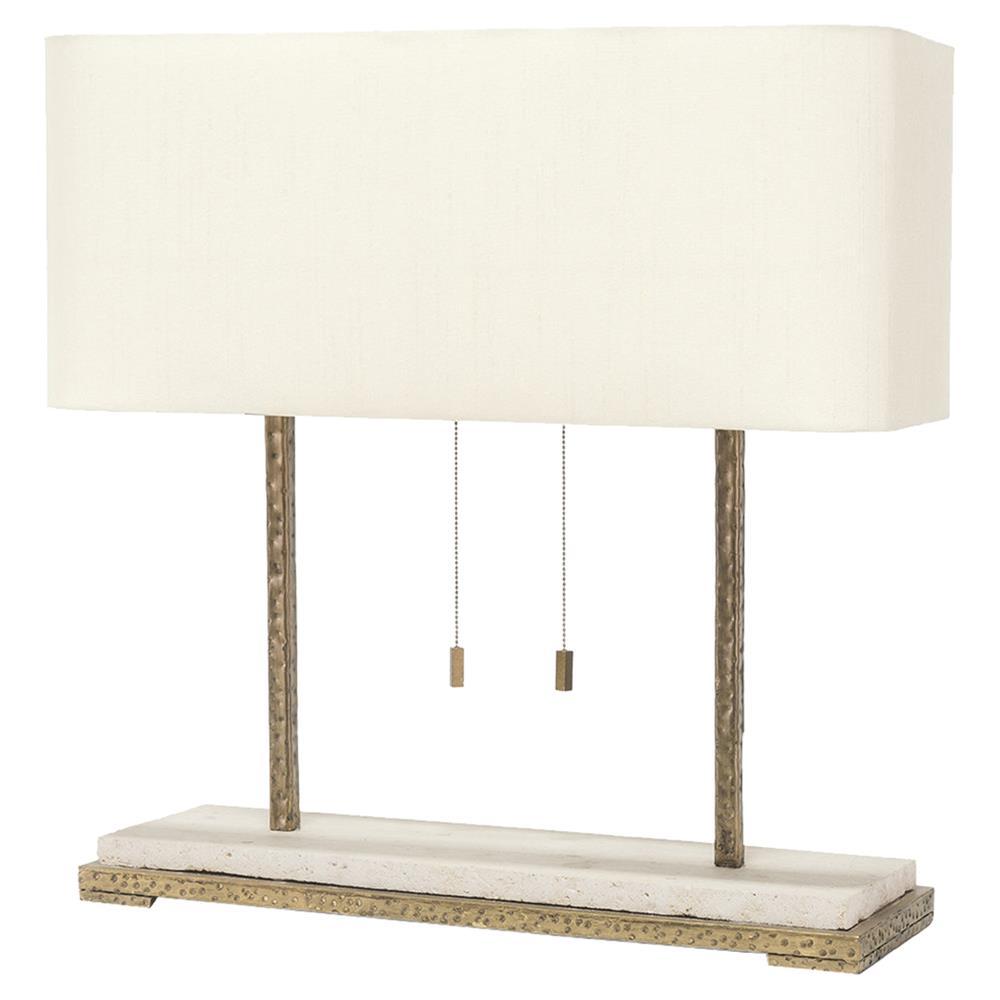 palecek lighting. Palecek Tao Modern Classic Metal Stone Rectangle Gold Table Lamp | Kathy  Kuo Home Palecek Lighting