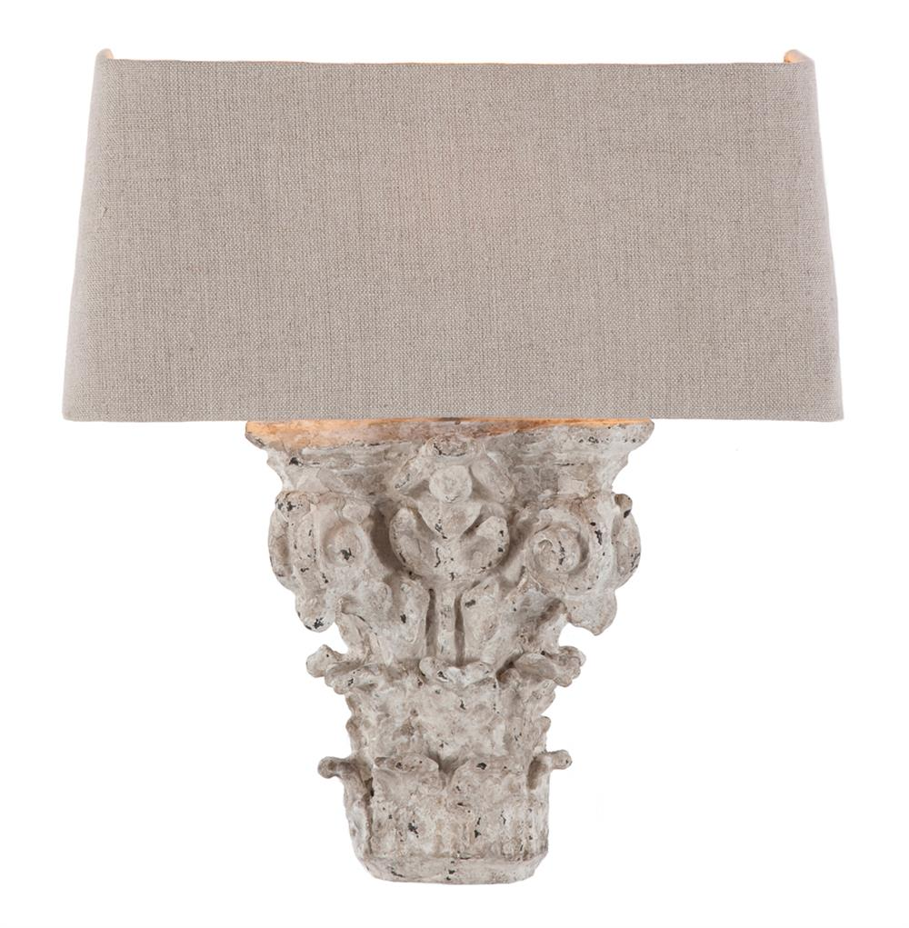 Merveilleux Pair Francesca French Country Architectural Fragment Wall Sconces | Kathy  Kuo Home