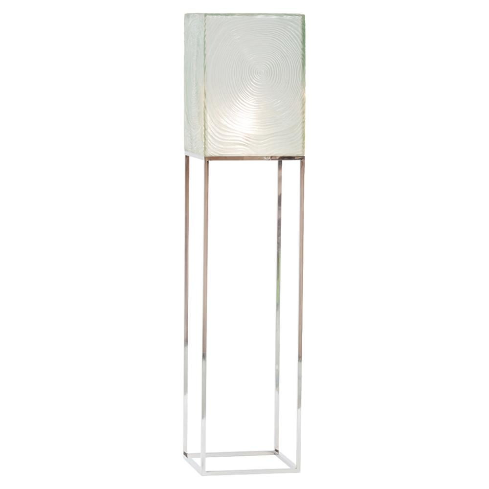 Oly Studio Anni Regency Square Clear Resin Shade Silver