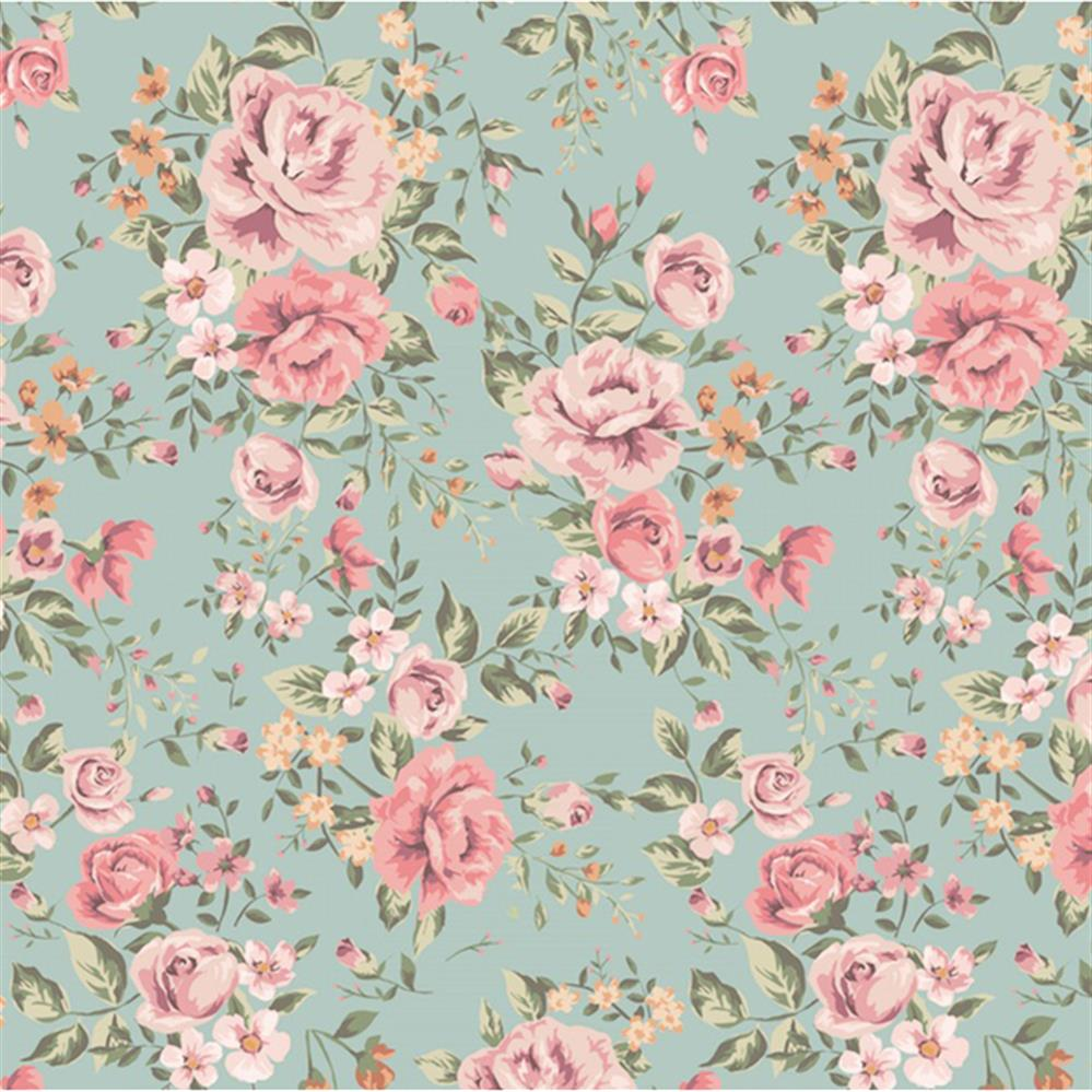 Antique Floral: Anewall Cutesie Modern Classic Vintage Floral Wallpaper