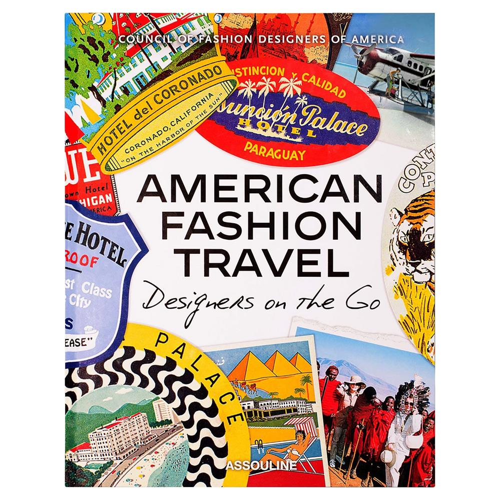American Fashion Travel Assouline Hardcover Book   Kathy Kuo Home