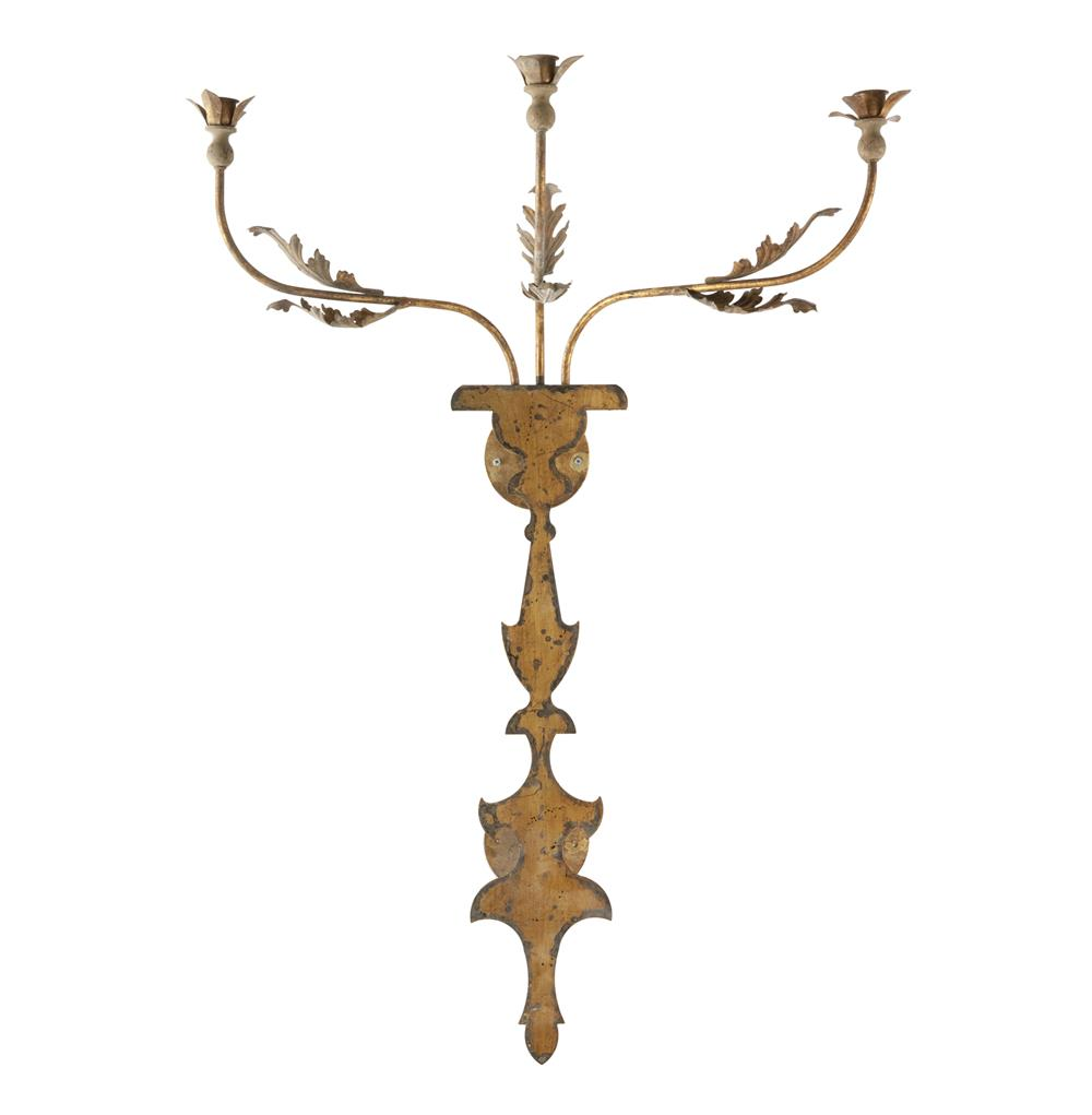 French Iron Wall Sconces : Veurne French Manor 42 Inch Rustic Iron Candle Wall Sconce Kathy Kuo Home