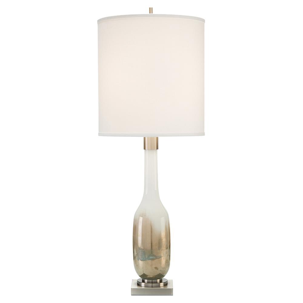 John Richard Modern Classic Hand Blown Golden Table Lamp Kathy Kuo