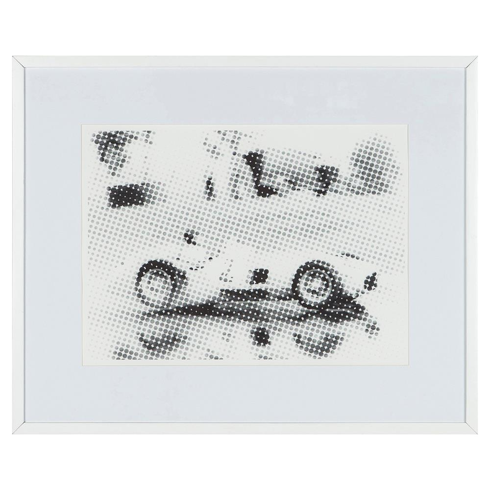 Coup Co Gus Modern Classic Mercedes Benz Paper Wood Frame Wall Art Product Kathy