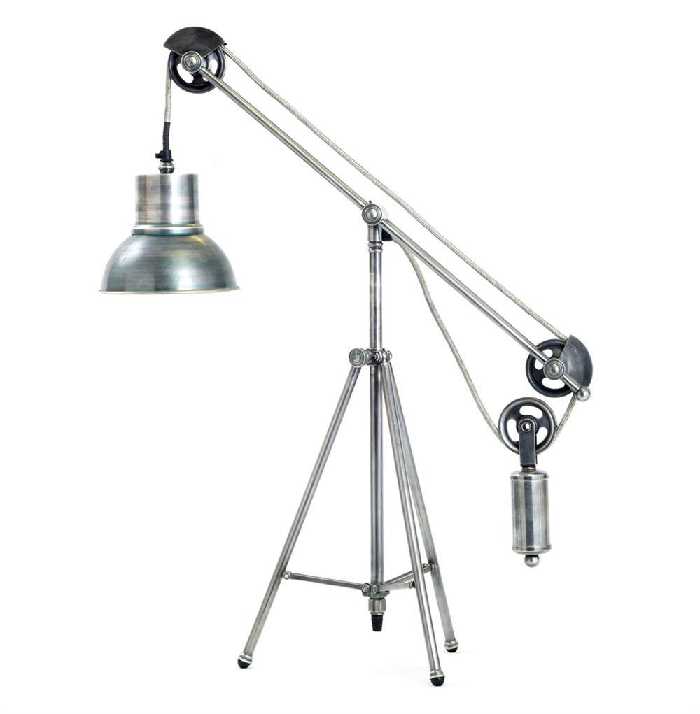 table lamps weighted balance industrial loft vintage metal desk lamp. Black Bedroom Furniture Sets. Home Design Ideas