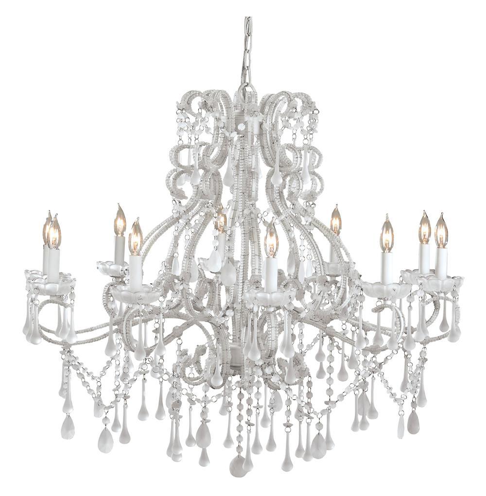 La boheme ornate murano white 10 light crystal grande chandelier la boheme ornate murano white 10 light crystal grande chandelier kathy kuo home aloadofball Choice Image
