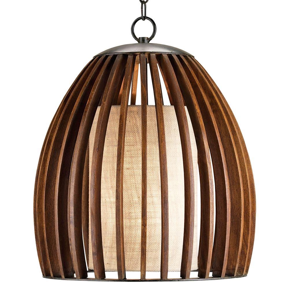 Carina wood and burlap slat mid century style bell pendant lamp carina wood and burlap slat mid century style bell pendant lamp kathy kuo home aloadofball Gallery