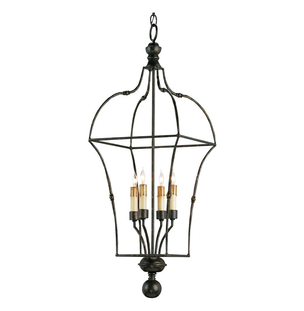 briane black wrought iron 4 light french country lantern pendant. Black Bedroom Furniture Sets. Home Design Ideas